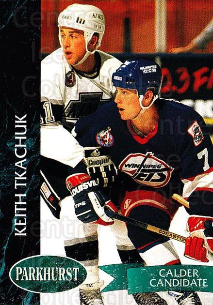 1992-93 Parkhurst #206 Keith Tkachuk<br/>5 In Stock - $1.00 each - <a href=https://centericecollectibles.foxycart.com/cart?name=1992-93%20Parkhurst%20%23206%20Keith%20Tkachuk...&quantity_max=5&price=$1.00&code=255097 class=foxycart> Buy it now! </a>