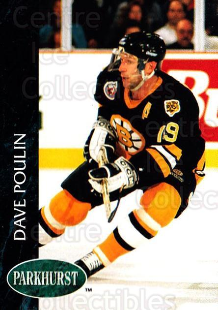 1992-93 Parkhurst #242 Dave Poulin<br/>5 In Stock - $1.00 each - <a href=https://centericecollectibles.foxycart.com/cart?name=1992-93%20Parkhurst%20%23242%20Dave%20Poulin...&quantity_max=5&price=$1.00&code=255133 class=foxycart> Buy it now! </a>