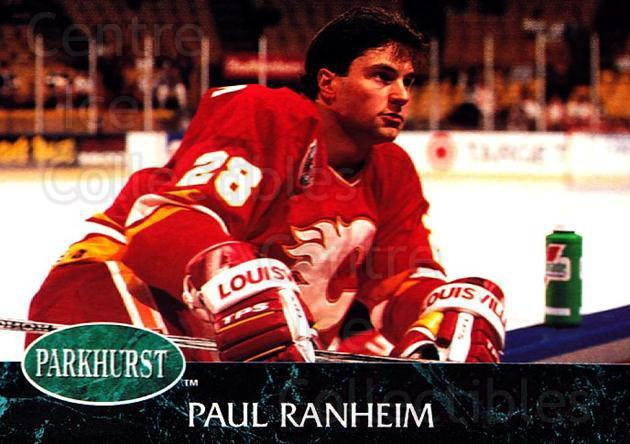 1992-93 Parkhurst #260 Paul Ranheim<br/>5 In Stock - $1.00 each - <a href=https://centericecollectibles.foxycart.com/cart?name=1992-93%20Parkhurst%20%23260%20Paul%20Ranheim...&quantity_max=5&price=$1.00&code=255151 class=foxycart> Buy it now! </a>