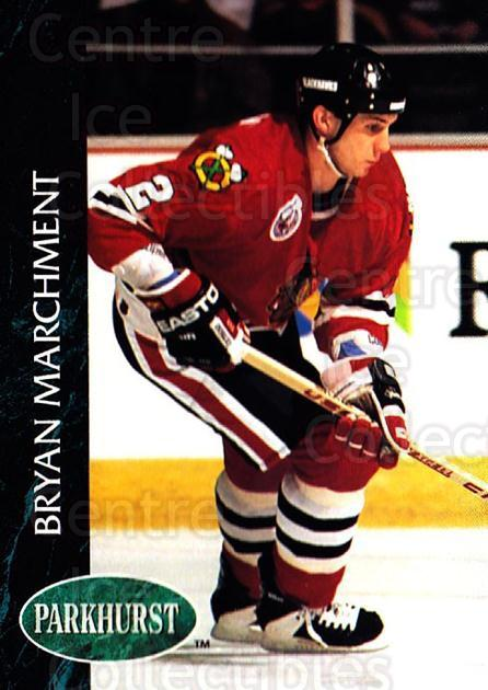 1992-93 Parkhurst #267 Bryan Marchment<br/>5 In Stock - $1.00 each - <a href=https://centericecollectibles.foxycart.com/cart?name=1992-93%20Parkhurst%20%23267%20Bryan%20Marchment...&quantity_max=5&price=$1.00&code=255158 class=foxycart> Buy it now! </a>