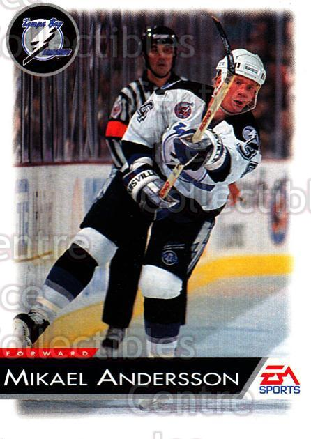 1994 EA Sports #130 Mikael Andersson<br/>6 In Stock - $1.00 each - <a href=https://centericecollectibles.foxycart.com/cart?name=1994%20EA%20Sports%20%23130%20Mikael%20Andersso...&quantity_max=6&price=$1.00&code=2551 class=foxycart> Buy it now! </a>