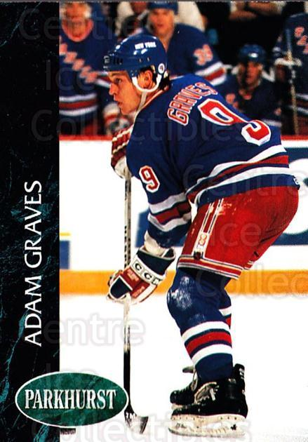 1992-93 Parkhurst #346 Adam Graves<br/>5 In Stock - $1.00 each - <a href=https://centericecollectibles.foxycart.com/cart?name=1992-93%20Parkhurst%20%23346%20Adam%20Graves...&quantity_max=5&price=$1.00&code=255237 class=foxycart> Buy it now! </a>