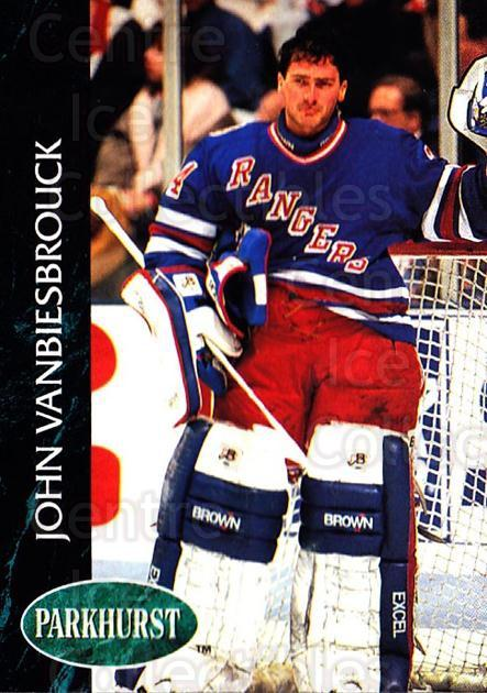 1992-93 Parkhurst #349 John Vanbiesbrouck<br/>5 In Stock - $1.00 each - <a href=https://centericecollectibles.foxycart.com/cart?name=1992-93%20Parkhurst%20%23349%20John%20Vanbiesbro...&quantity_max=5&price=$1.00&code=255240 class=foxycart> Buy it now! </a>