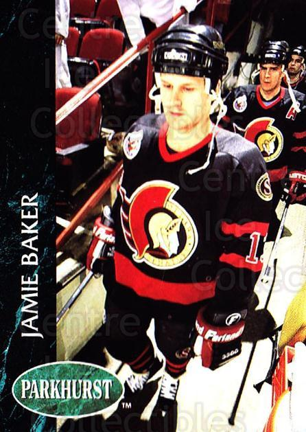 1992-93 Parkhurst #353 Jamie Baker<br/>4 In Stock - $1.00 each - <a href=https://centericecollectibles.foxycart.com/cart?name=1992-93%20Parkhurst%20%23353%20Jamie%20Baker...&quantity_max=4&price=$1.00&code=255244 class=foxycart> Buy it now! </a>