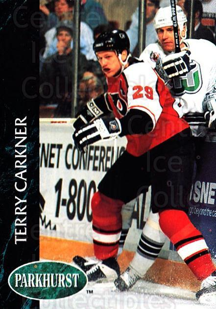 1992-93 Parkhurst #362 Terry Carkner<br/>4 In Stock - $1.00 each - <a href=https://centericecollectibles.foxycart.com/cart?name=1992-93%20Parkhurst%20%23362%20Terry%20Carkner...&quantity_max=4&price=$1.00&code=255253 class=foxycart> Buy it now! </a>