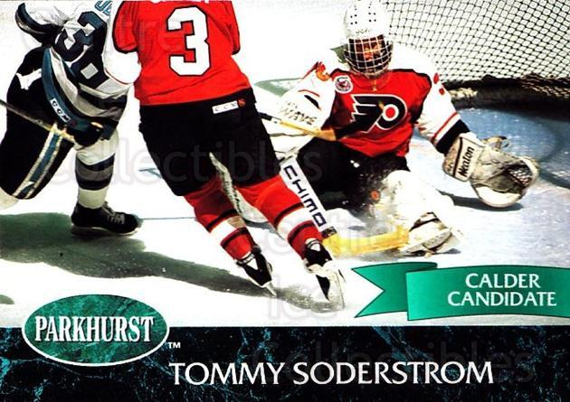 1992-93 Parkhurst #367 Tommy Soderstrom<br/>4 In Stock - $1.00 each - <a href=https://centericecollectibles.foxycart.com/cart?name=1992-93%20Parkhurst%20%23367%20Tommy%20Soderstro...&quantity_max=4&price=$1.00&code=255258 class=foxycart> Buy it now! </a>