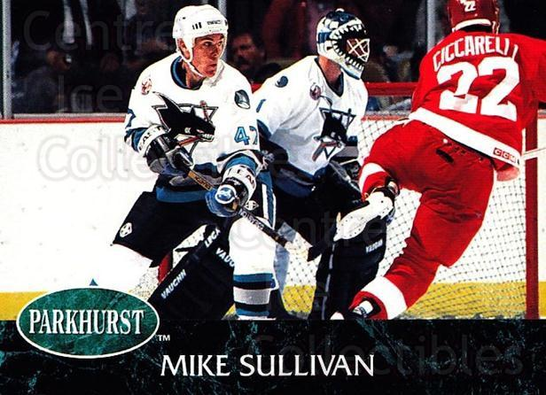 1992-93 Parkhurst #395 Mike Sullivan<br/>2 In Stock - $1.00 each - <a href=https://centericecollectibles.foxycart.com/cart?name=1992-93%20Parkhurst%20%23395%20Mike%20Sullivan...&quantity_max=2&price=$1.00&code=255286 class=foxycart> Buy it now! </a>