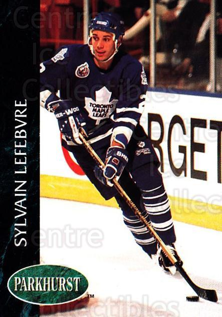 1992-93 Parkhurst #416 Sylvain Lefebvre<br/>1 In Stock - $1.00 each - <a href=https://centericecollectibles.foxycart.com/cart?name=1992-93%20Parkhurst%20%23416%20Sylvain%20Lefebvr...&quantity_max=1&price=$1.00&code=255307 class=foxycart> Buy it now! </a>