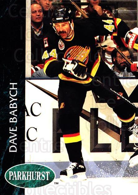 1992-93 Parkhurst #424 Dave Babych<br/>5 In Stock - $1.00 each - <a href=https://centericecollectibles.foxycart.com/cart?name=1992-93%20Parkhurst%20%23424%20Dave%20Babych...&quantity_max=5&price=$1.00&code=255315 class=foxycart> Buy it now! </a>