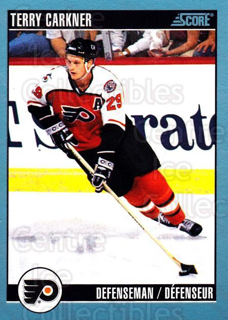 1992-93 Score Canadian #66 Terry Carkner<br/>5 In Stock - $1.00 each - <a href=https://centericecollectibles.foxycart.com/cart?name=1992-93%20Score%20Canadian%20%2366%20Terry%20Carkner...&quantity_max=5&price=$1.00&code=255467 class=foxycart> Buy it now! </a>