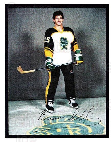1985-86 London Knights #10 Brian Dobbin<br/>5 In Stock - $3.00 each - <a href=https://centericecollectibles.foxycart.com/cart?name=1985-86%20London%20Knights%20%2310%20Brian%20Dobbin...&quantity_max=5&price=$3.00&code=25565 class=foxycart> Buy it now! </a>