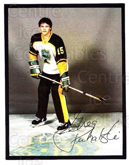 1985-86 London Knights #13 Greg Puhalski<br/>5 In Stock - $3.00 each - <a href=https://centericecollectibles.foxycart.com/cart?name=1985-86%20London%20Knights%20%2313%20Greg%20Puhalski...&quantity_max=5&price=$3.00&code=25568 class=foxycart> Buy it now! </a>