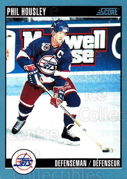 1992-93 Score Canadian #299 Phil Housley<br/>6 In Stock - $1.00 each - <a href=https://centericecollectibles.foxycart.com/cart?name=1992-93%20Score%20Canadian%20%23299%20Phil%20Housley...&quantity_max=6&price=$1.00&code=255700 class=foxycart> Buy it now! </a>
