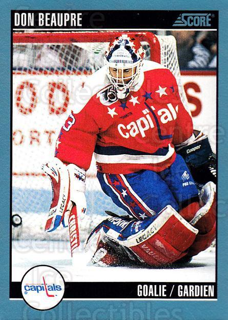 1992-93 Score Canadian #320 Don Beaupre<br/>6 In Stock - $1.00 each - <a href=https://centericecollectibles.foxycart.com/cart?name=1992-93%20Score%20Canadian%20%23320%20Don%20Beaupre...&quantity_max=6&price=$1.00&code=255721 class=foxycart> Buy it now! </a>