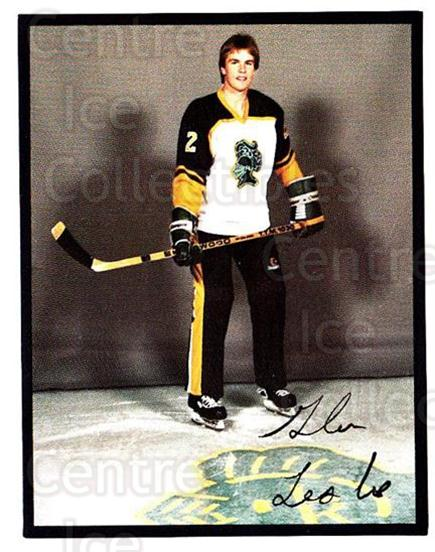 1985-86 London Knights #18 Glen Leslie<br/>5 In Stock - $3.00 each - <a href=https://centericecollectibles.foxycart.com/cart?name=1985-86%20London%20Knights%20%2318%20Glen%20Leslie...&quantity_max=5&price=$3.00&code=25573 class=foxycart> Buy it now! </a>