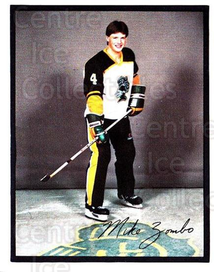 1985-86 London Knights #19 Mike Zombo<br/>6 In Stock - $3.00 each - <a href=https://centericecollectibles.foxycart.com/cart?name=1985-86%20London%20Knights%20%2319%20Mike%20Zombo...&quantity_max=6&price=$3.00&code=25574 class=foxycart> Buy it now! </a>