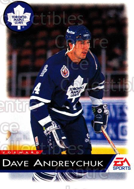 1994 EA Sports #136 Dave Andreychuk<br/>5 In Stock - $1.00 each - <a href=https://centericecollectibles.foxycart.com/cart?name=1994%20EA%20Sports%20%23136%20Dave%20Andreychuk...&quantity_max=5&price=$1.00&code=2557 class=foxycart> Buy it now! </a>