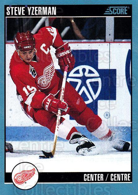 1992-93 Score Canadian #400 Steve Yzerman<br/>4 In Stock - $1.00 each - <a href=https://centericecollectibles.foxycart.com/cart?name=1992-93%20Score%20Canadian%20%23400%20Steve%20Yzerman...&price=$1.00&code=255801 class=foxycart> Buy it now! </a>