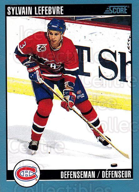 1992-93 Score Canadian #405 Sylvain Lefebvre<br/>3 In Stock - $1.00 each - <a href=https://centericecollectibles.foxycart.com/cart?name=1992-93%20Score%20Canadian%20%23405%20Sylvain%20Lefebvr...&quantity_max=3&price=$1.00&code=255806 class=foxycart> Buy it now! </a>