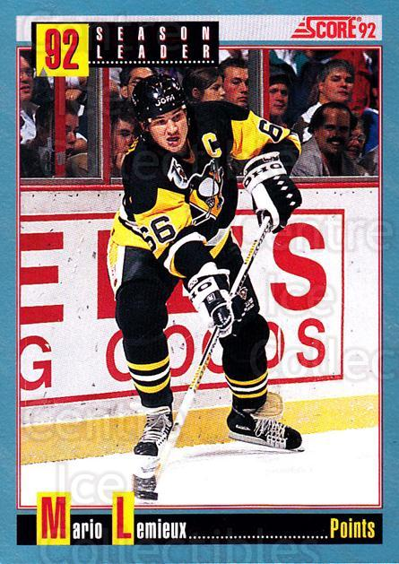 1992-93 Score Canadian #413 Mario Lemieux<br/>2 In Stock - $1.00 each - <a href=https://centericecollectibles.foxycart.com/cart?name=1992-93%20Score%20Canadian%20%23413%20Mario%20Lemieux...&price=$1.00&code=255814 class=foxycart> Buy it now! </a>