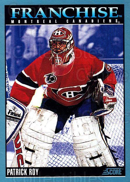 1992-93 Score Canadian #428 Patrick Roy<br/>2 In Stock - $2.00 each - <a href=https://centericecollectibles.foxycart.com/cart?name=1992-93%20Score%20Canadian%20%23428%20Patrick%20Roy...&quantity_max=2&price=$2.00&code=255829 class=foxycart> Buy it now! </a>