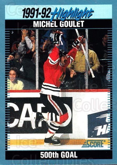 1992-93 Score Canadian #444 Michel Goulet<br/>4 In Stock - $1.00 each - <a href=https://centericecollectibles.foxycart.com/cart?name=1992-93%20Score%20Canadian%20%23444%20Michel%20Goulet...&quantity_max=4&price=$1.00&code=255845 class=foxycart> Buy it now! </a>