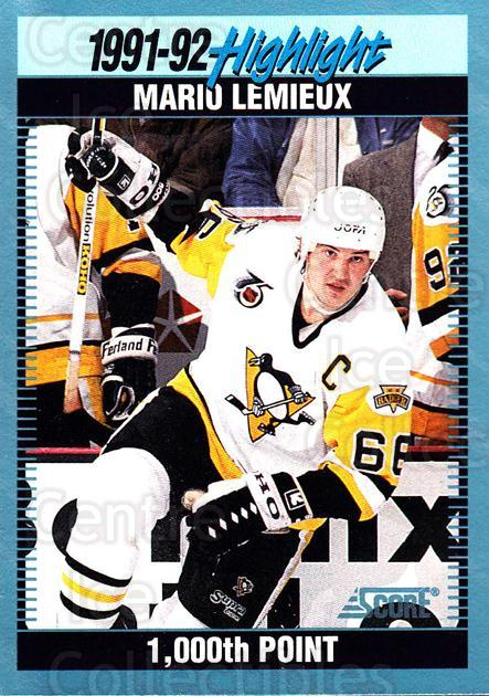 1992-93 Score Canadian #448 Mario Lemieux<br/>1 In Stock - $2.00 each - <a href=https://centericecollectibles.foxycart.com/cart?name=1992-93%20Score%20Canadian%20%23448%20Mario%20Lemieux...&price=$2.00&code=255849 class=foxycart> Buy it now! </a>