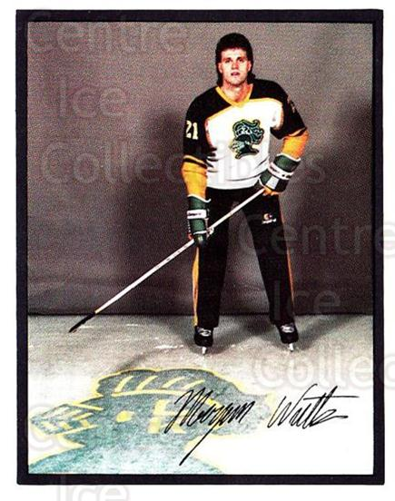 1985-86 London Knights #8 Morgan Watts<br/>1 In Stock - $3.00 each - <a href=https://centericecollectibles.foxycart.com/cart?name=1985-86%20London%20Knights%20%238%20Morgan%20Watts...&quantity_max=1&price=$3.00&code=25591 class=foxycart> Buy it now! </a>