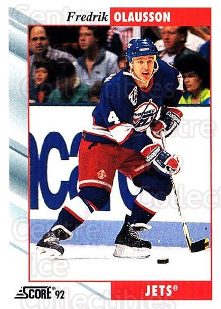 1992-93 Score USA #13 Fredrik Olausson<br/>4 In Stock - $1.00 each - <a href=https://centericecollectibles.foxycart.com/cart?name=1992-93%20Score%20USA%20%2313%20Fredrik%20Olausso...&quantity_max=4&price=$1.00&code=255964 class=foxycart> Buy it now! </a>