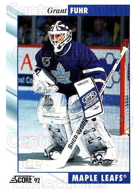 1992-93 Score USA #20 Grant Fuhr<br/>2 In Stock - $1.00 each - <a href=https://centericecollectibles.foxycart.com/cart?name=1992-93%20Score%20USA%20%2320%20Grant%20Fuhr...&quantity_max=2&price=$1.00&code=255971 class=foxycart> Buy it now! </a>