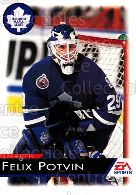1994 EA Sports #138 Felix Potvin<br/>3 In Stock - $1.00 each - <a href=https://centericecollectibles.foxycart.com/cart?name=1994%20EA%20Sports%20%23138%20Felix%20Potvin...&quantity_max=3&price=$1.00&code=2559 class=foxycart> Buy it now! </a>
