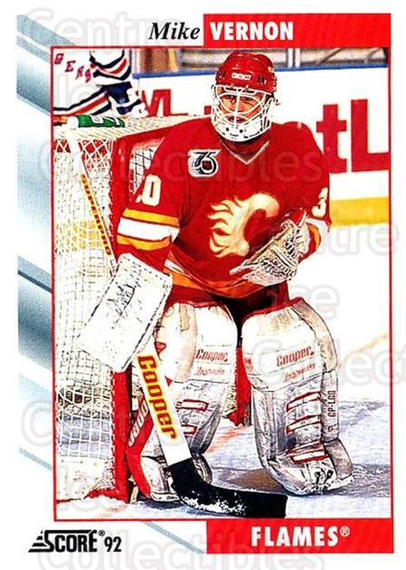 1992-93 Score USA #60 Mike Vernon<br/>3 In Stock - $1.00 each - <a href=https://centericecollectibles.foxycart.com/cart?name=1992-93%20Score%20USA%20%2360%20Mike%20Vernon...&quantity_max=3&price=$1.00&code=256011 class=foxycart> Buy it now! </a>