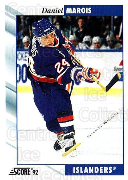 1992-93 Score USA #63 Daniel Marois<br/>4 In Stock - $1.00 each - <a href=https://centericecollectibles.foxycart.com/cart?name=1992-93%20Score%20USA%20%2363%20Daniel%20Marois...&quantity_max=4&price=$1.00&code=256014 class=foxycart> Buy it now! </a>