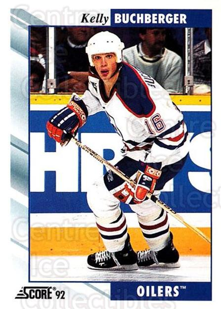 1992-93 Score USA #126 Kelly Buchberger<br/>2 In Stock - $1.00 each - <a href=https://centericecollectibles.foxycart.com/cart?name=1992-93%20Score%20USA%20%23126%20Kelly%20Buchberge...&quantity_max=2&price=$1.00&code=256077 class=foxycart> Buy it now! </a>