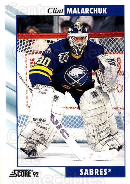 1992-93 Score USA #138 Clint Malarchuk<br/>1 In Stock - $1.00 each - <a href=https://centericecollectibles.foxycart.com/cart?name=1992-93%20Score%20USA%20%23138%20Clint%20Malarchuk...&quantity_max=1&price=$1.00&code=256089 class=foxycart> Buy it now! </a>
