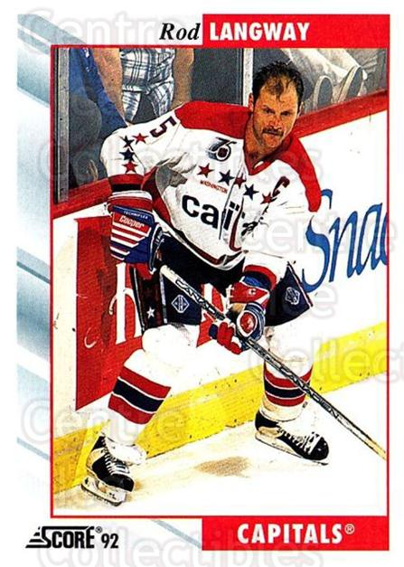 1992-93 Score USA #143 Rod Langway<br/>3 In Stock - $1.00 each - <a href=https://centericecollectibles.foxycart.com/cart?name=1992-93%20Score%20USA%20%23143%20Rod%20Langway...&quantity_max=3&price=$1.00&code=256094 class=foxycart> Buy it now! </a>
