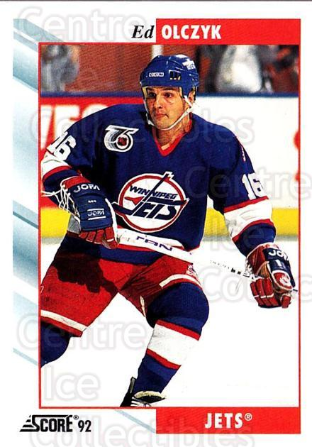 1992-93 Score USA #145 Ed Olczyk<br/>4 In Stock - $1.00 each - <a href=https://centericecollectibles.foxycart.com/cart?name=1992-93%20Score%20USA%20%23145%20Ed%20Olczyk...&quantity_max=4&price=$1.00&code=256096 class=foxycart> Buy it now! </a>
