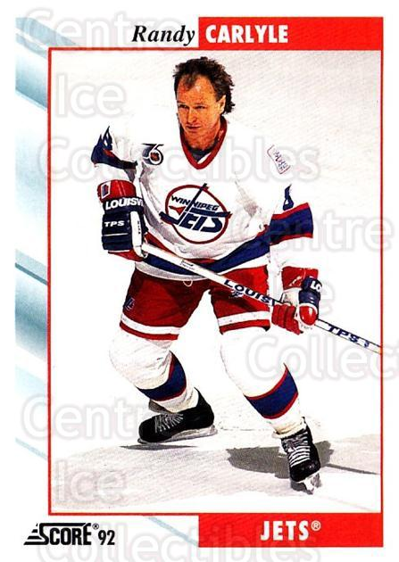 1992-93 Score USA #167 Randy Carlyle<br/>4 In Stock - $1.00 each - <a href=https://centericecollectibles.foxycart.com/cart?name=1992-93%20Score%20USA%20%23167%20Randy%20Carlyle...&quantity_max=4&price=$1.00&code=256118 class=foxycart> Buy it now! </a>