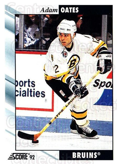 1992-93 Score USA #250 Adam Oates<br/>4 In Stock - $1.00 each - <a href=https://centericecollectibles.foxycart.com/cart?name=1992-93%20Score%20USA%20%23250%20Adam%20Oates...&quantity_max=4&price=$1.00&code=256201 class=foxycart> Buy it now! </a>