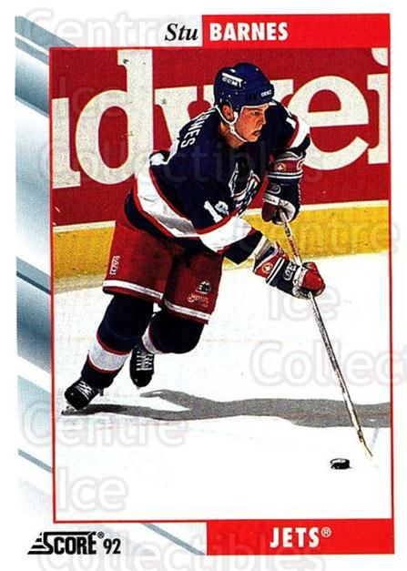 1992-93 Score USA #319 Stu Barnes<br/>4 In Stock - $1.00 each - <a href=https://centericecollectibles.foxycart.com/cart?name=1992-93%20Score%20USA%20%23319%20Stu%20Barnes...&quantity_max=4&price=$1.00&code=256270 class=foxycart> Buy it now! </a>