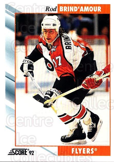 1992-93 Score USA #324 Rod Brind'Amour<br/>4 In Stock - $1.00 each - <a href=https://centericecollectibles.foxycart.com/cart?name=1992-93%20Score%20USA%20%23324%20Rod%20Brind'Amour...&quantity_max=4&price=$1.00&code=256275 class=foxycart> Buy it now! </a>