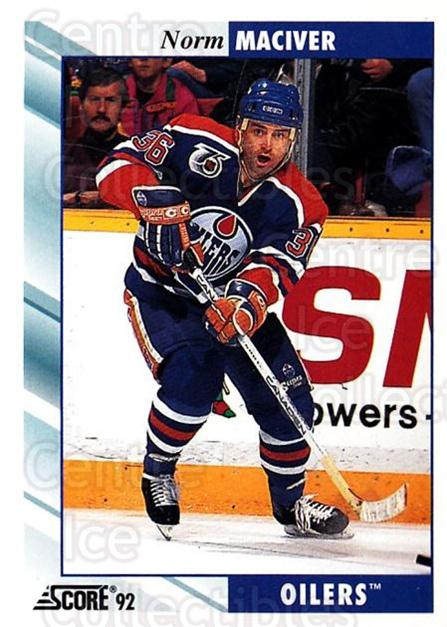 1992-93 Score USA #349 Norm Maciver<br/>4 In Stock - $1.00 each - <a href=https://centericecollectibles.foxycart.com/cart?name=1992-93%20Score%20USA%20%23349%20Norm%20Maciver...&quantity_max=4&price=$1.00&code=256300 class=foxycart> Buy it now! </a>