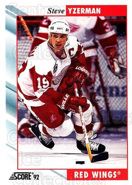 1992-93 Score USA #400 Steve Yzerman<br/>1 In Stock - $1.00 each - <a href=https://centericecollectibles.foxycart.com/cart?name=1992-93%20Score%20USA%20%23400%20Steve%20Yzerman...&price=$1.00&code=256351 class=foxycart> Buy it now! </a>
