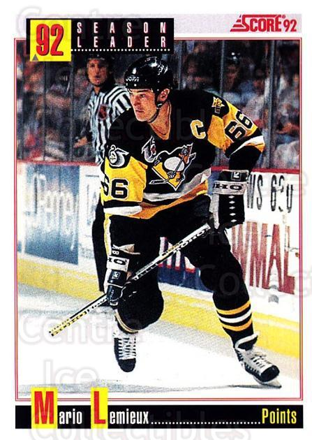1992-93 Score USA #413 Mario Lemieux<br/>1 In Stock - $2.00 each - <a href=https://centericecollectibles.foxycart.com/cart?name=1992-93%20Score%20USA%20%23413%20Mario%20Lemieux...&price=$2.00&code=256364 class=foxycart> Buy it now! </a>
