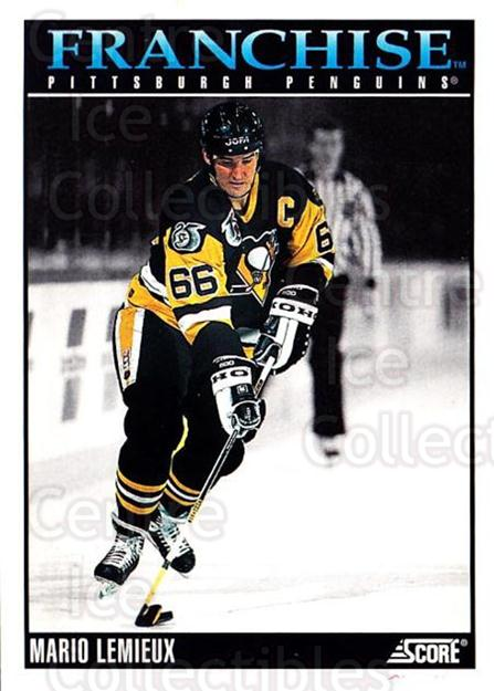 1992-93 Score USA #433 Mario Lemieux<br/>1 In Stock - $2.00 each - <a href=https://centericecollectibles.foxycart.com/cart?name=1992-93%20Score%20USA%20%23433%20Mario%20Lemieux...&price=$2.00&code=256384 class=foxycart> Buy it now! </a>