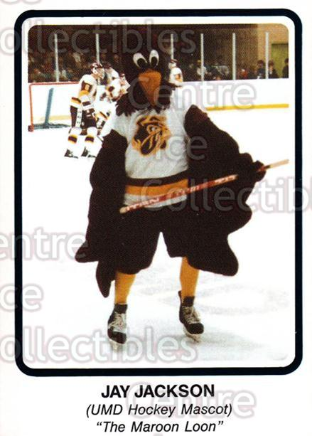 1985-86 Minnesota-Duluth Bulldogs #36 Jay Jackson<br/>13 In Stock - $3.00 each - <a href=https://centericecollectibles.foxycart.com/cart?name=1985-86%20Minnesota-Duluth%20Bulldogs%20%2336%20Jay%20Jackson...&quantity_max=13&price=$3.00&code=25639 class=foxycart> Buy it now! </a>