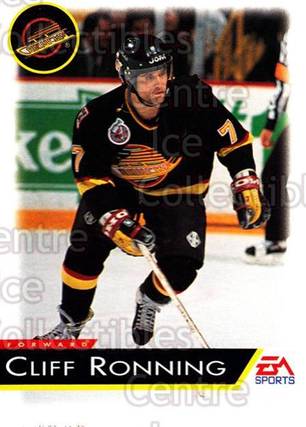 1994 EA Sports #141 Cliff Ronning<br/>6 In Stock - $1.00 each - <a href=https://centericecollectibles.foxycart.com/cart?name=1994%20EA%20Sports%20%23141%20Cliff%20Ronning...&quantity_max=6&price=$1.00&code=2563 class=foxycart> Buy it now! </a>