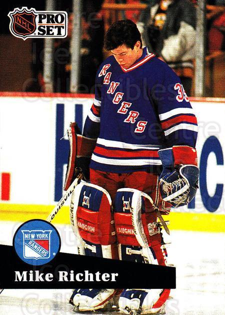 1991-92 Pro Set #161 Mike Richter<br/>5 In Stock - $1.00 each - <a href=https://centericecollectibles.foxycart.com/cart?name=1991-92%20Pro%20Set%20%23161%20Mike%20Richter...&quantity_max=5&price=$1.00&code=256662 class=foxycart> Buy it now! </a>