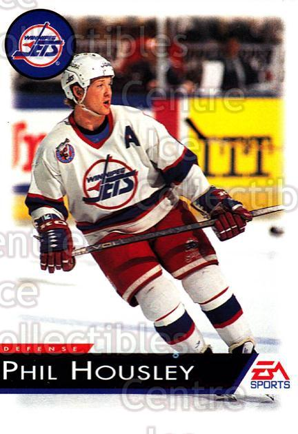 1994 EA Sports #145 Phil Housley<br/>4 In Stock - $1.00 each - <a href=https://centericecollectibles.foxycart.com/cart?name=1994%20EA%20Sports%20%23145%20Phil%20Housley...&quantity_max=4&price=$1.00&code=2566 class=foxycart> Buy it now! </a>
