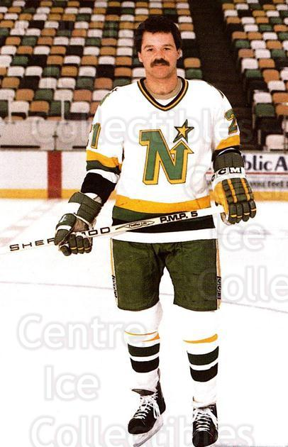 1985-86 Minnesota North Stars Postcards #11 Dirk Graham<br/>1 In Stock - $3.00 each - <a href=https://centericecollectibles.foxycart.com/cart?name=1985-86%20Minnesota%20North%20Stars%20Postcards%20%2311%20Dirk%20Graham...&quantity_max=1&price=$3.00&code=25698 class=foxycart> Buy it now! </a>